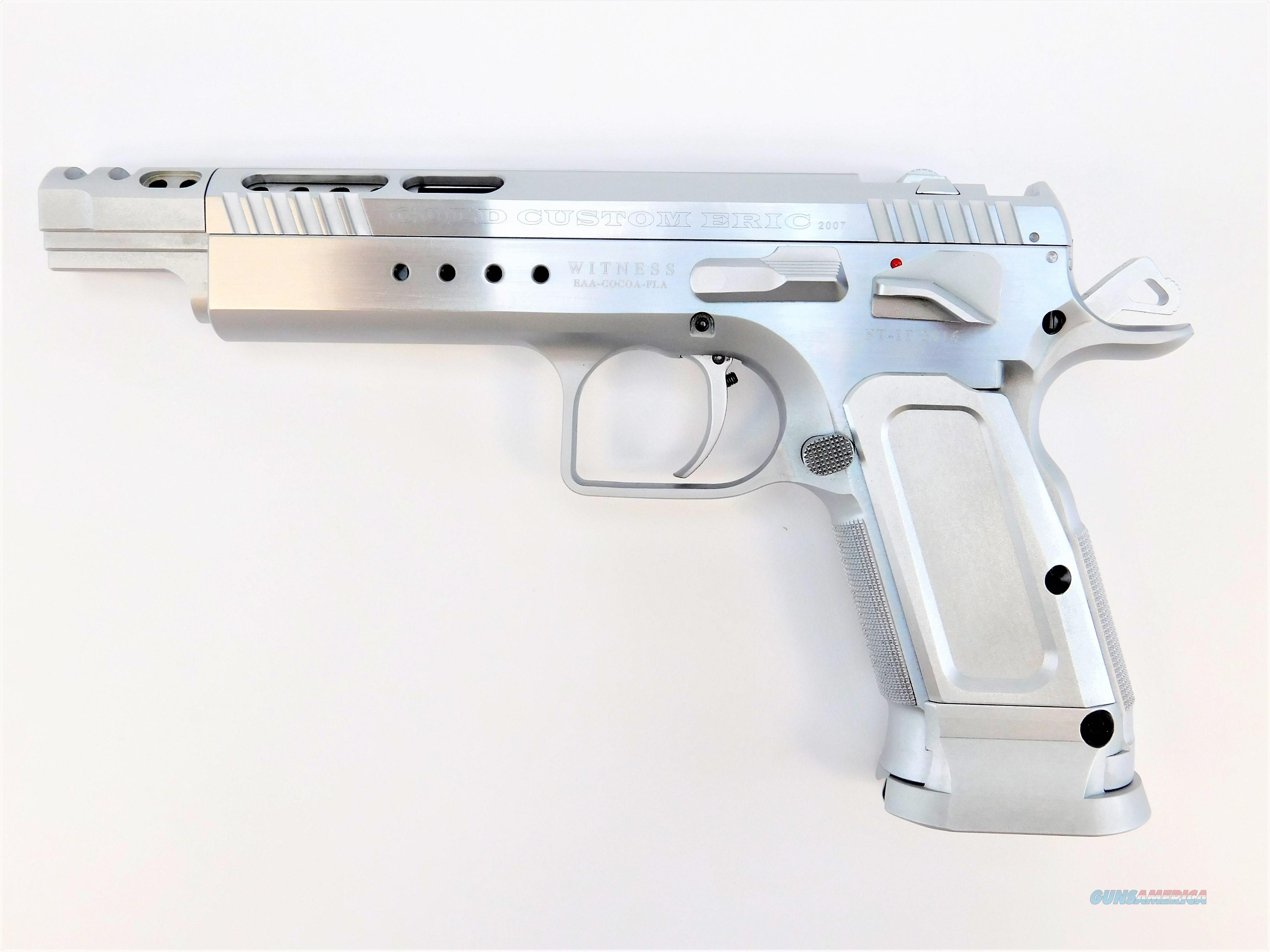 "EAA Tanfoglio Witness Gold .45 ACP 5.25"" 600090  Guns > Pistols > EAA Pistols > Other"