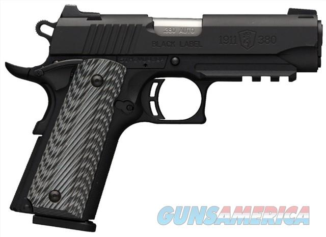 Browning 1911-380 Black Label Pro Compact 051909492  Guns > Pistols > Browning Pistols > Other Autos