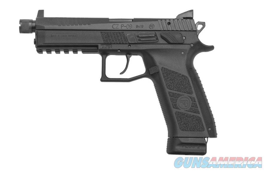 "CZ-USA CZ P-09 9mm Suppressor-Ready 5.15"" Black 91270   Guns > Pistols > CZ Pistols"