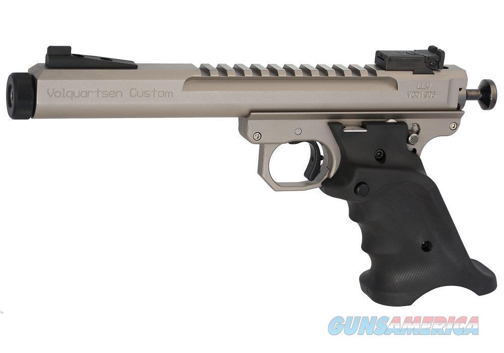 "Volquartsen Scorpion .22 LR Silver 6"" Target Sights VC3SN-S-6   Guns > Pistols > V Misc Pistols"
