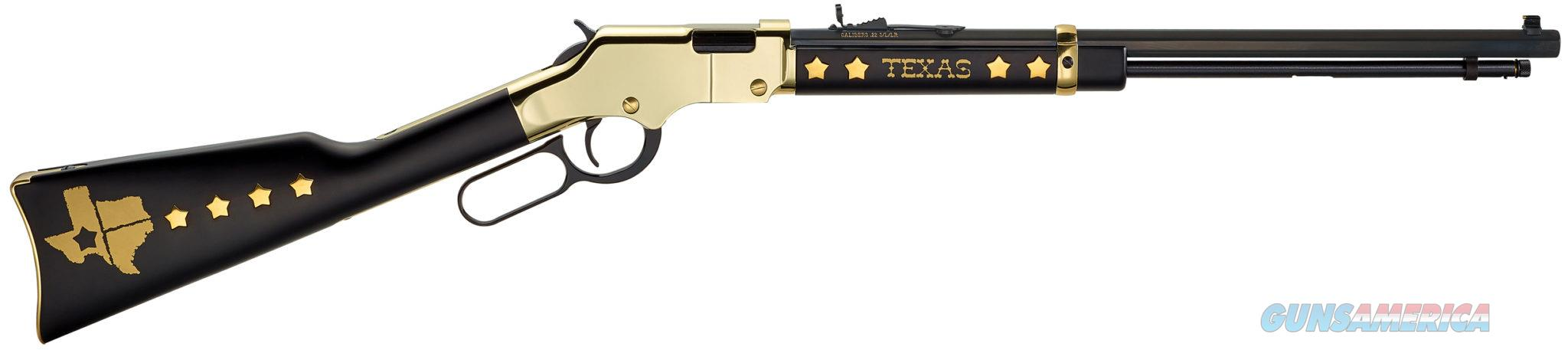 "Henry Texas Tribute Edition .22 LR 21"" Octagon Blued H004TX  Guns > Rifles > Henry Rifle Company"