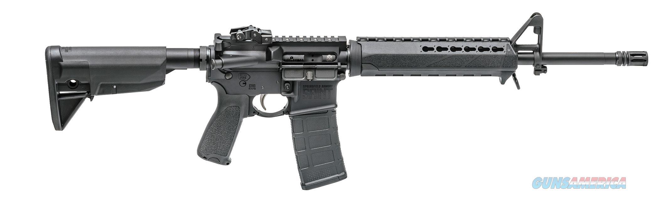 SRPINGFIELD ARMORY SAINT AR-15 M4 5.56 NATO  ST916556B  Guns > Rifles > Springfield Armory Rifles > M1A/M14