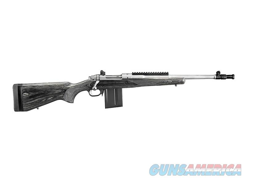 """Ruger Gunsite Scout 5.56 NATO 16.10"""" Stainless 10 Rds 6825   Guns > Rifles > Ruger Rifles > American Rifle"""