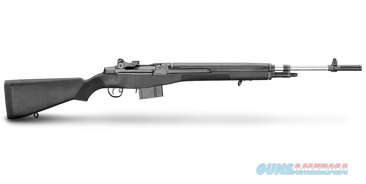 "Springfield M1A Loaded 7.62 NATO Black 22"" Stainless MA9826   Guns > Rifles > Springfield Armory Rifles > M1A/M14"