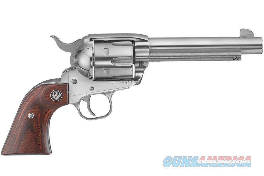 """Ruger Vaquero .357 Magnum 5.5"""" Stainless 6 Rds 5108   Guns > Pistols > Ruger Single Action Revolvers > Cowboy Action"""