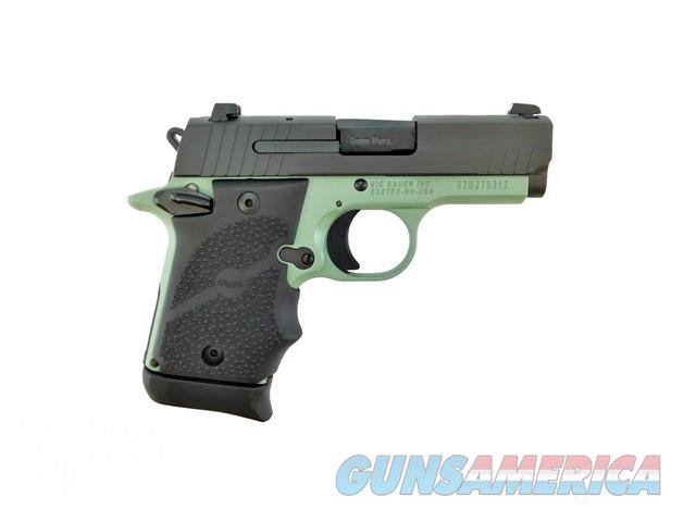 SIG SAUER P938 938-9-DB-AMBI 9MM CERAKOTE SAGE GREEN  Guns > Pistols > Sig - Sauer/Sigarms Pistols > P938