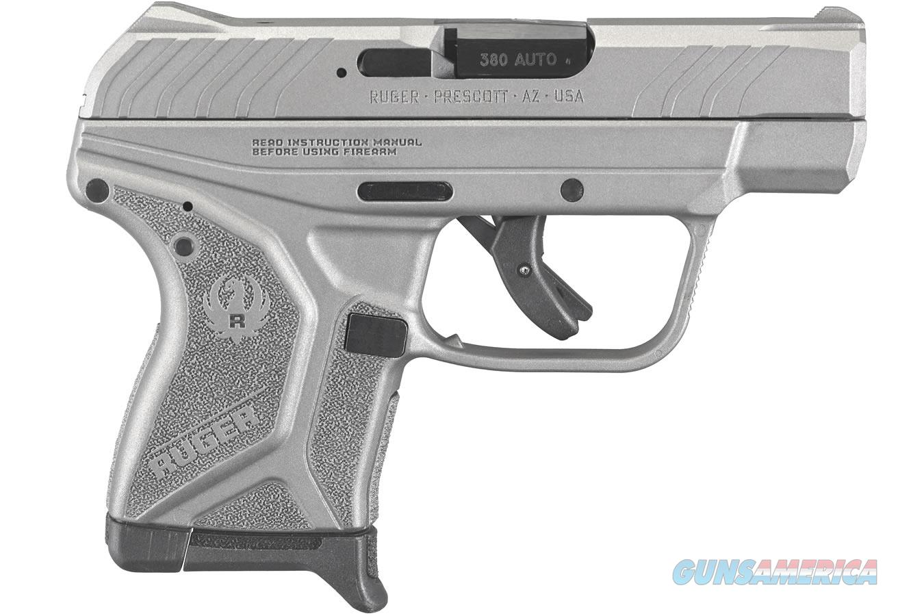 "Ruger LCP II .380 ACP Savage Silver Cerakote 2.75"" 3759   Guns > Pistols > Ruger Semi-Auto Pistols > LCP"