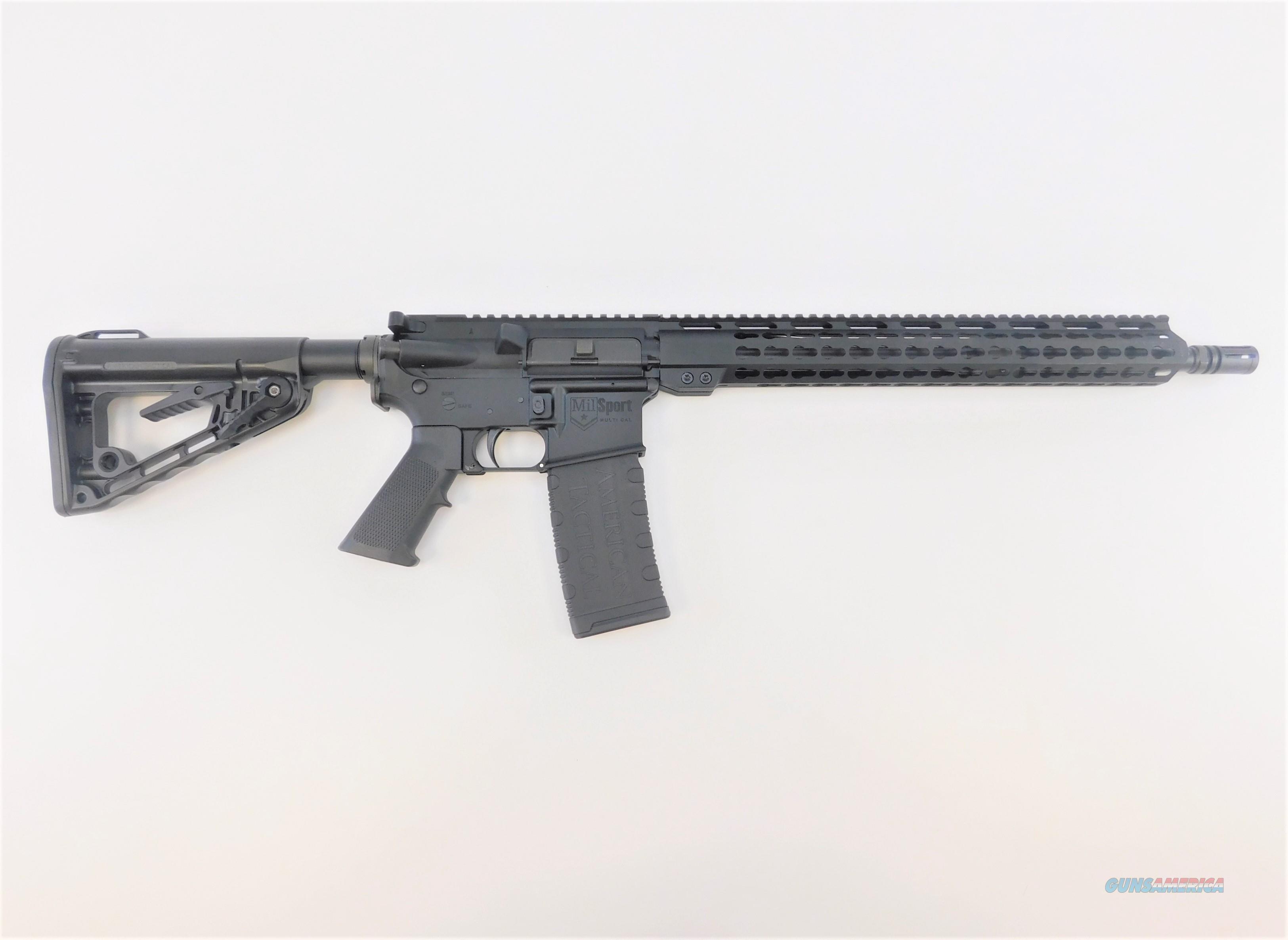"ATI RIA MILSPORT AR-15 5.56 NATO 16"" ATIG15MS556MM  Guns > Rifles > American Tactical Imports Rifles"