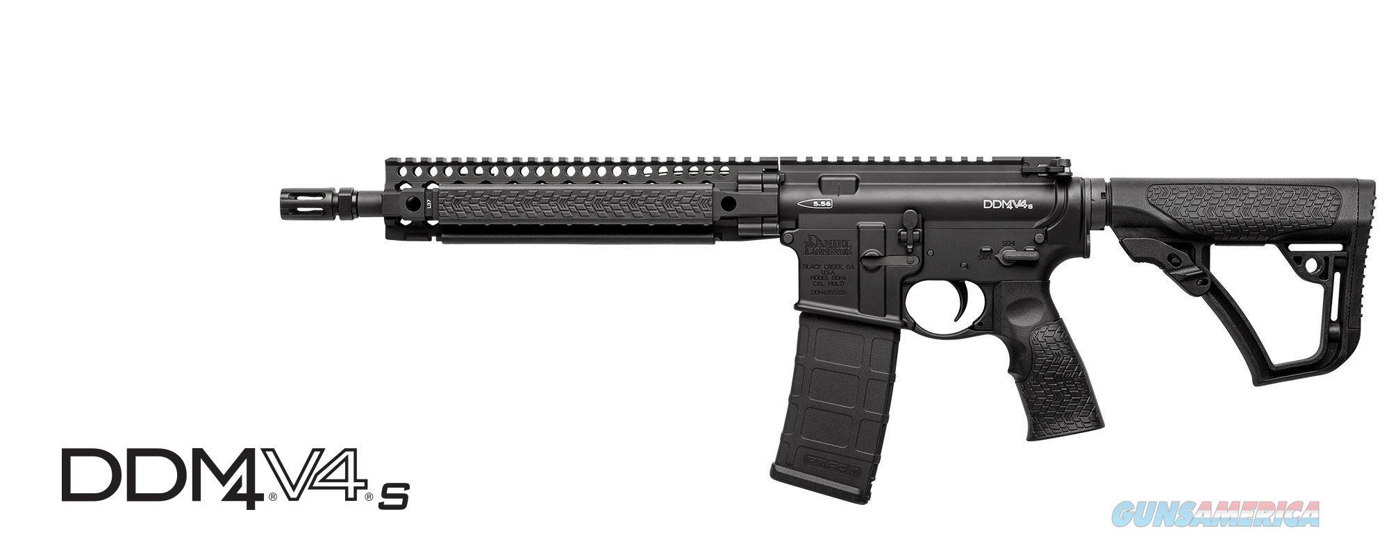 "Daniel Defense DDM4 V4 S 5.56 NATO SBR 11.5"" AR-15 02-088-11034   Guns > Rifles > Class 3 Rifles > Class 3 Subguns"