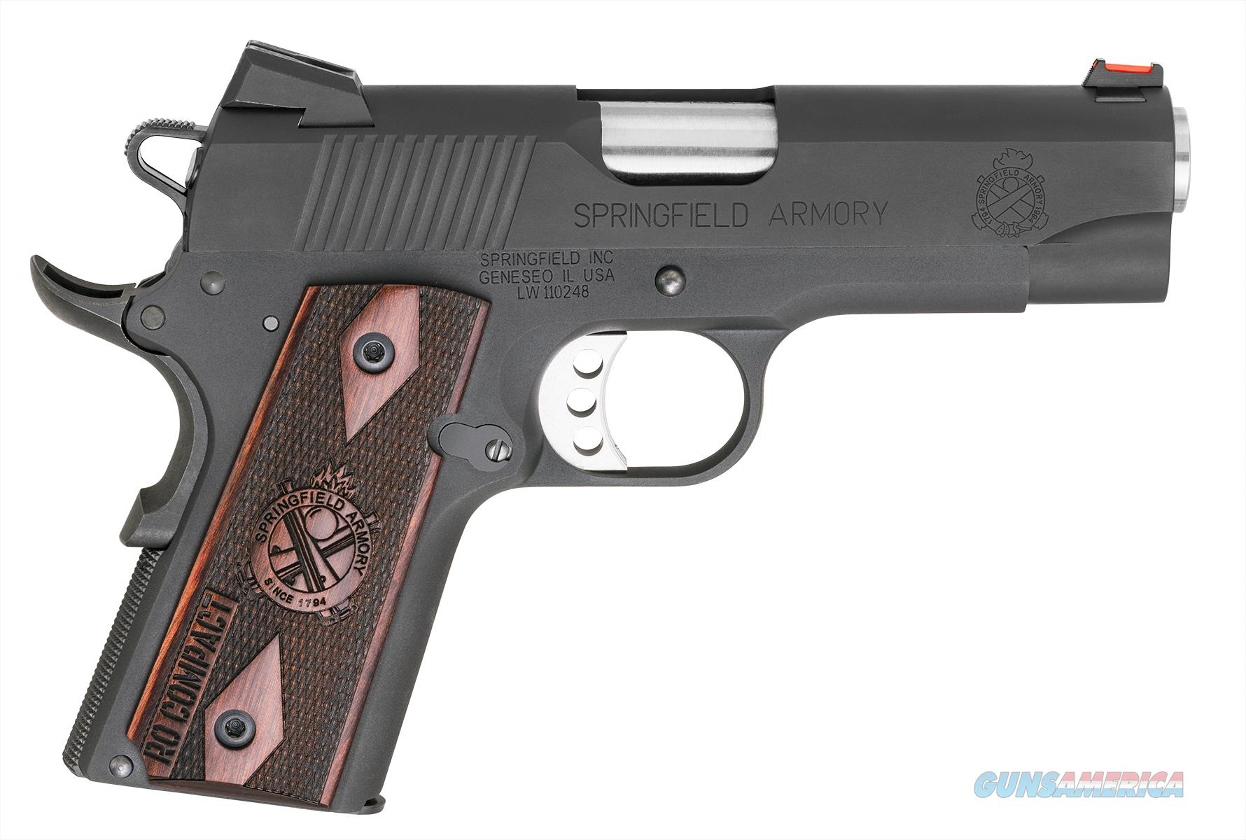 "Springfield 1911 Range Officer Compact .45 ACP 4"" PI9126L   Guns > Pistols > Springfield Armory Pistols > 1911 Type"