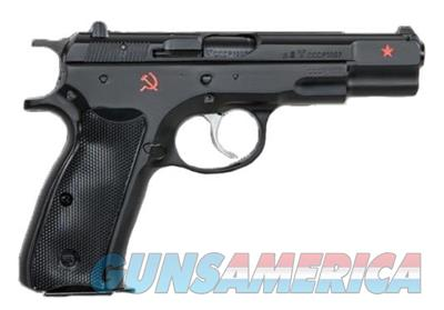 CZ-USA CZ 75B Cold War Commemorative Edition 9mm 91116   Guns > Pistols > CZ Pistols