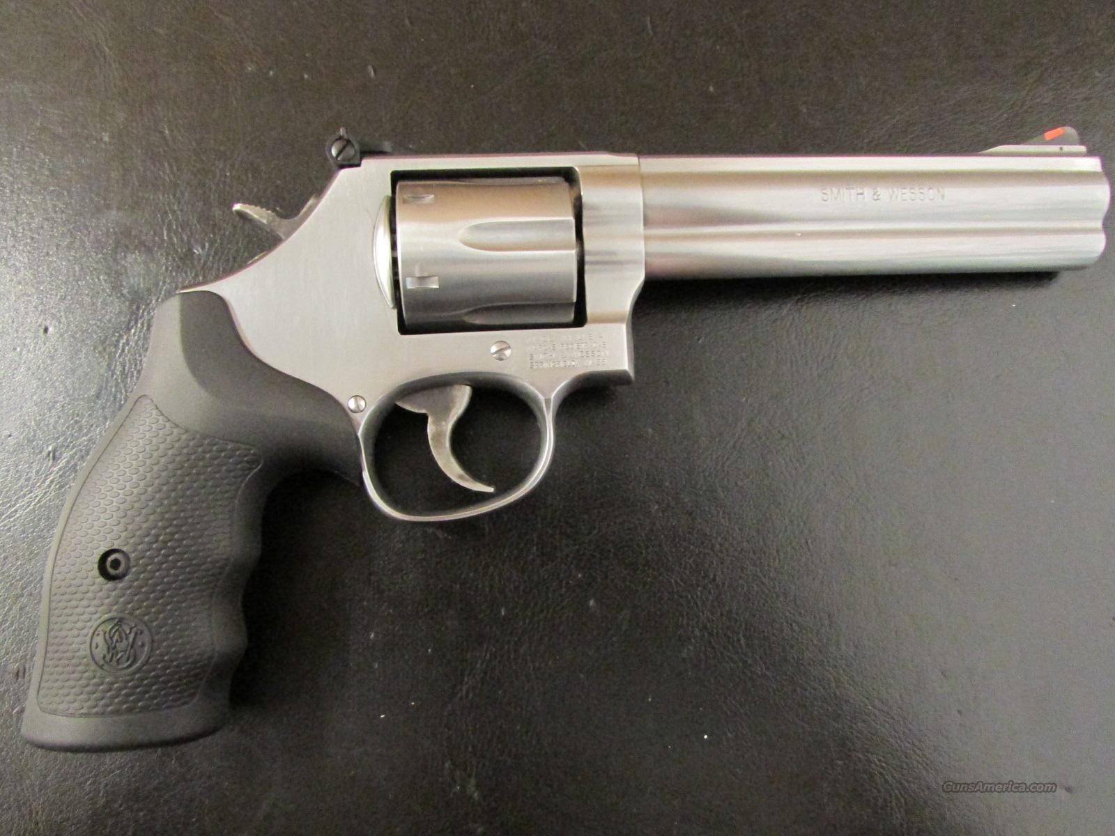 "Smith & Wesson Model 686 Stainless 6"" .357 Magnum  Guns > Pistols > Smith & Wesson Revolvers > Full Frame Revolver"