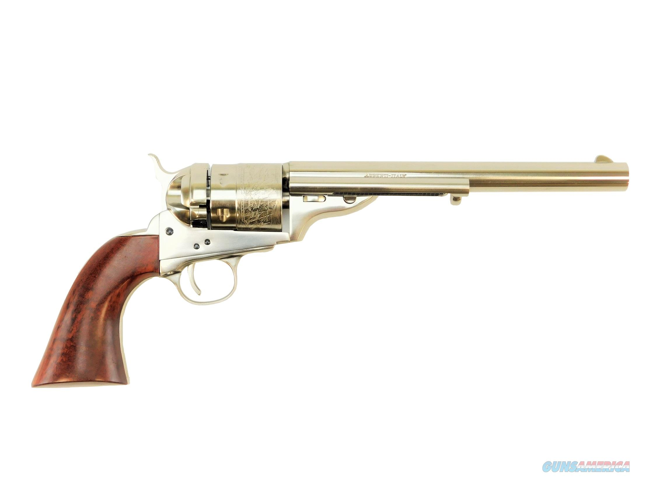 "Taylor's & Co. C Mason 1860 Army Nickel .45 LC 8"" REV9031N00  Guns > Pistols > Taylors & Co. Pistols > Ctg."