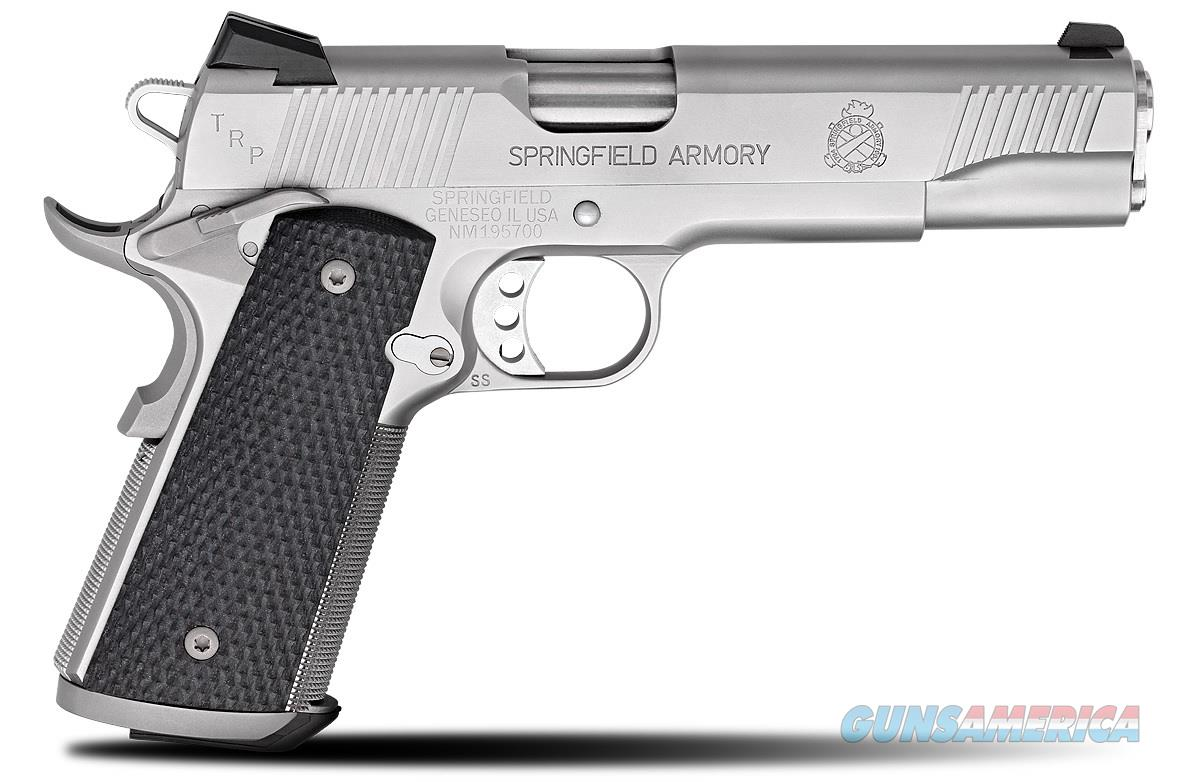 Springfield 1911 TRP Stainless .45 ACP CA Compliant PC9107LCA   Guns > Pistols > Springfield Armory Pistols > 1911 Type
