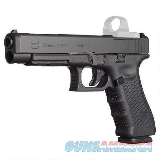 """Glock G34 Gen4 MOS 9mm 5.3"""" 17 Rds PG3430103MOS  Guns > Pistols > Glock Pistols > 34"""