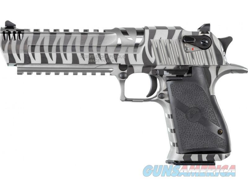 "Magnum Research Desert Eagle .44 Magnum 6"" IMB White Tiger Stripe DE44WTS  Guns > Pistols > Magnum Research Pistols"