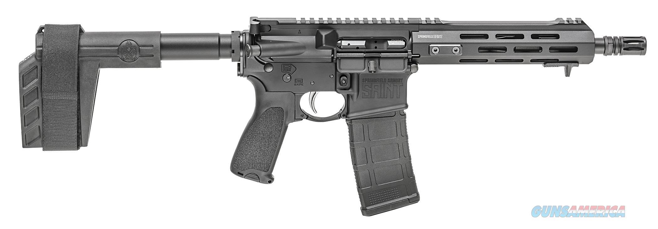 "Springfield Saint AR-15 Pistol .300 BLK 9"" 30 Rds ST909300B   Guns > Pistols > Springfield Armory Pistols > SAINT Pistol"