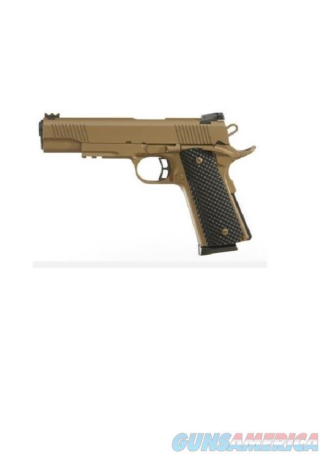 Taylor's & Co. 1911 FS Coyote Tan .45 ACP REV51477  Guns > Pistols > 1911 Pistol Copies (non-Colt)