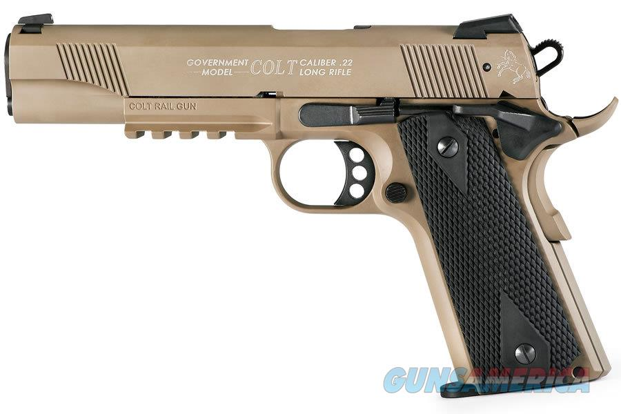 Walther Colt Government 1911 A1 Rail Gun .22LR FDE 517.03.10   Guns > Pistols > Walther Pistols > Post WWII > Target Pistols