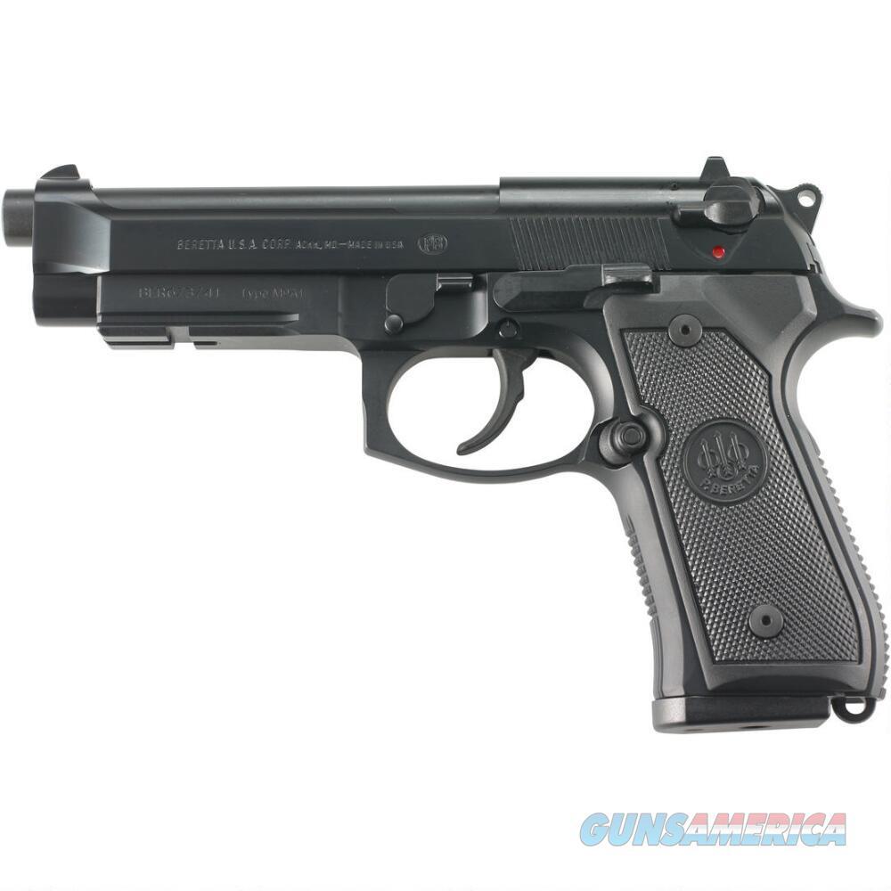 "Beretta M9A1 9mm Luger 4.9"" 15 Rounds JS92M9A1M   Guns > Pistols > Beretta Pistols > M9"