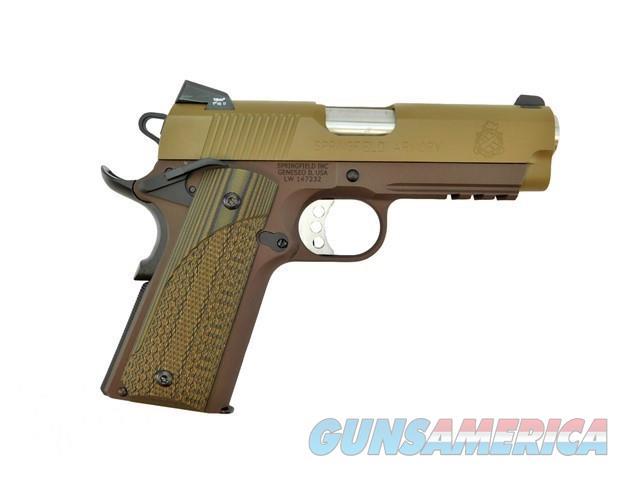 "SPRINGFIELD CHAMPION OP LW 4"" .45 ACP 1911 CERAKOTE DRAB  Guns > Pistols > Springfield Armory Pistols > 1911 Type"