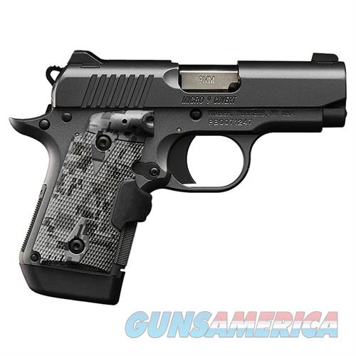"Kimber Micro 9 Covert (NS) 9mm 3.15"" Lasergrip 7 Rds 3300187   Guns > Pistols > Kimber of America Pistols > Micro 9"