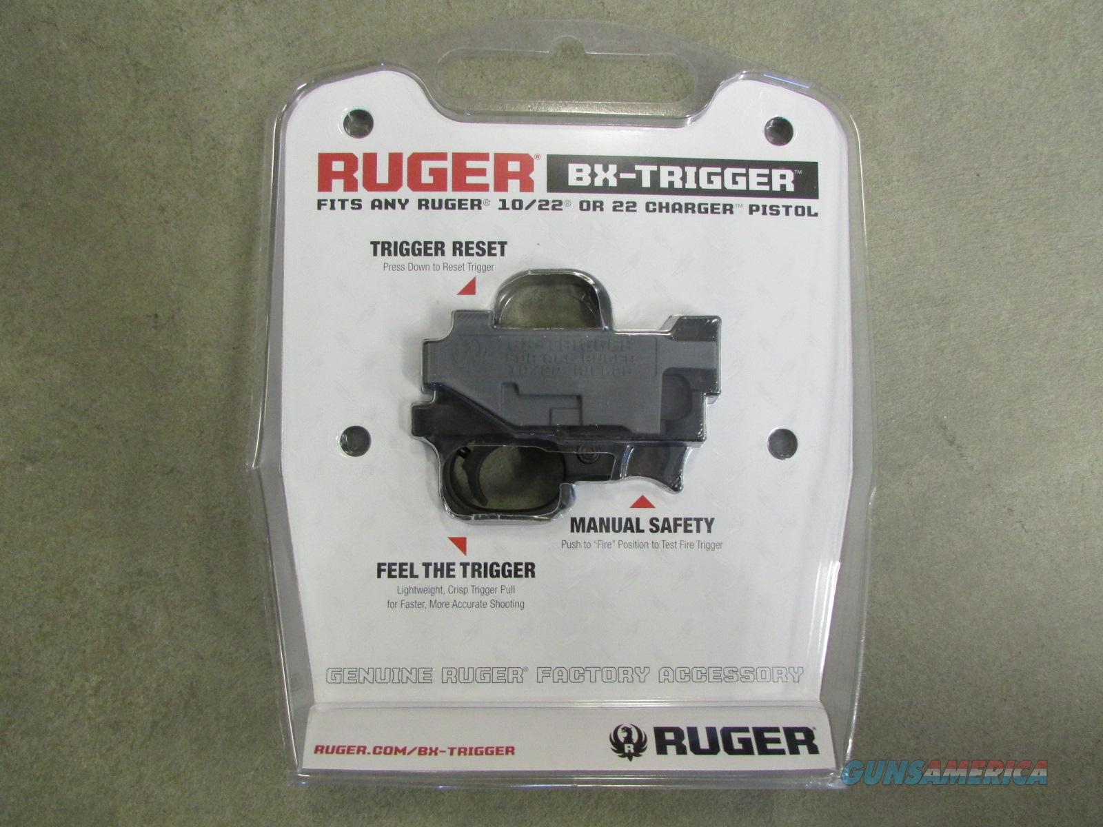 Ruger BX Trigger Guard Assembly Ruger 10/22 Black Polymer 90462  Non-Guns > Gun Parts > By Manufacturer > Ruger