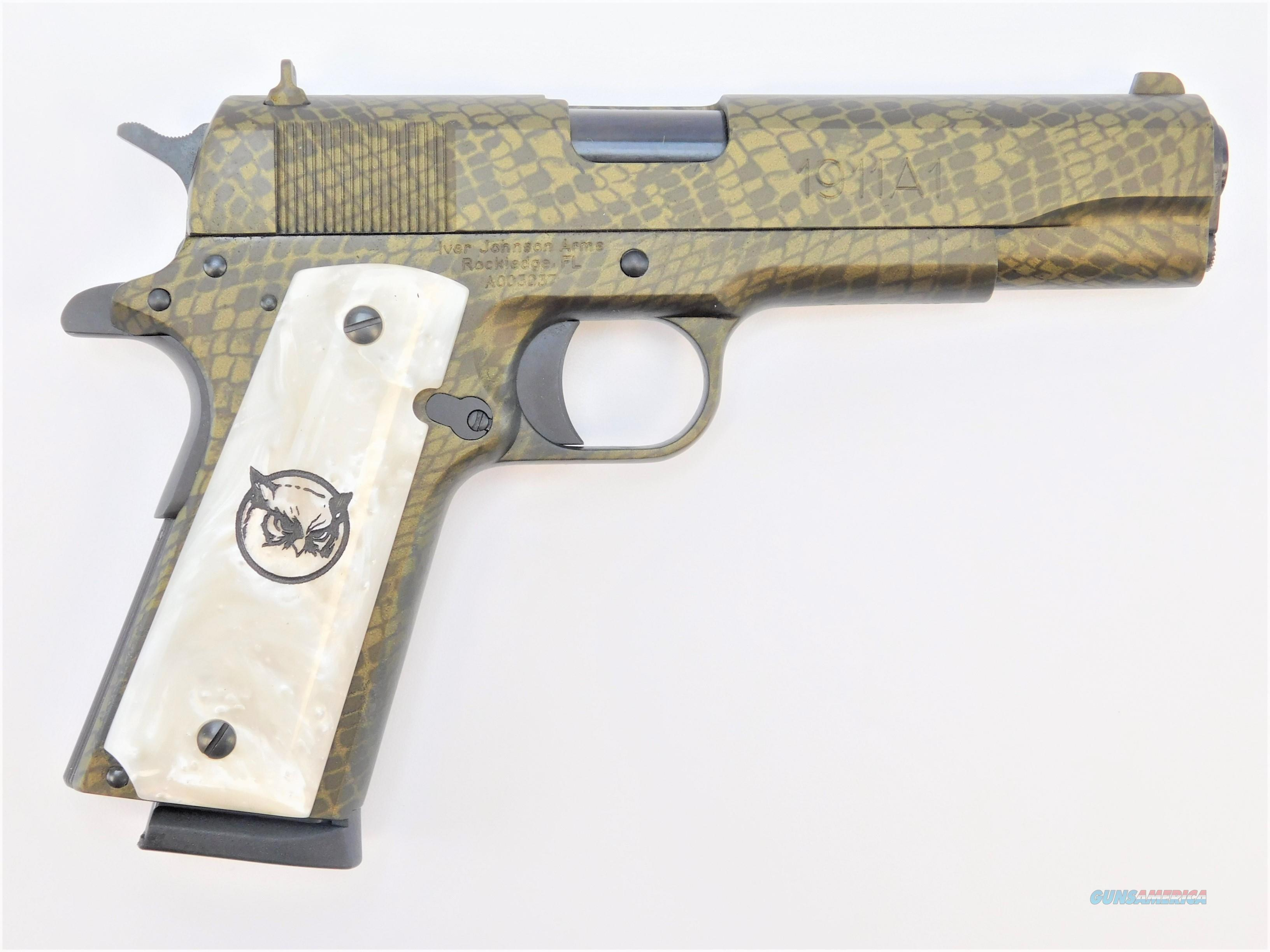"Iver Johnson 1911A1 Water Moccasin .45 ACP 5"" 8 Rds 1911A1WATERMOCC  Guns > Pistols > Iver Johnson Pistols"