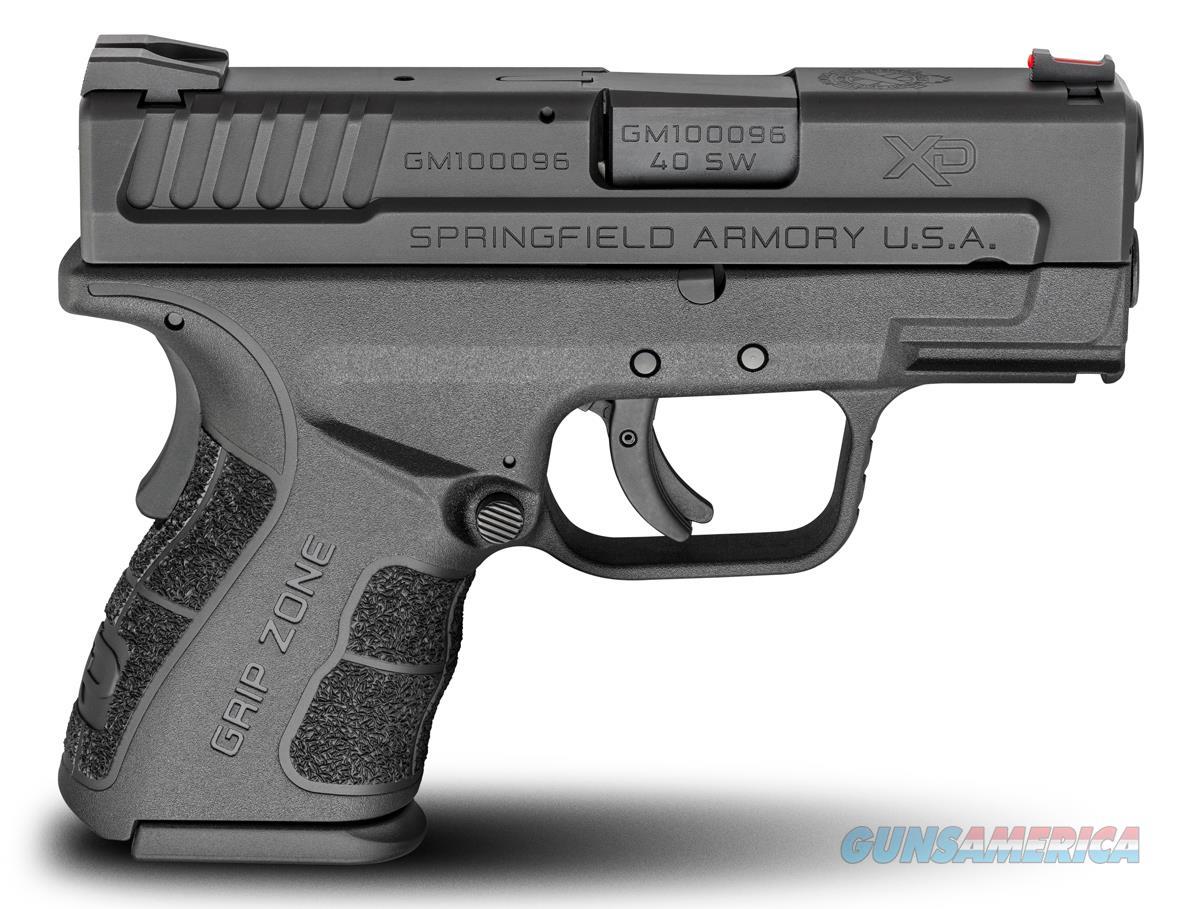 "Springfield Armory XD Mod.2 Sub-Compact .40 S&W 3"" XDG9802HC  Guns > Pistols > Springfield Armory Pistols > XD-Mod.2"