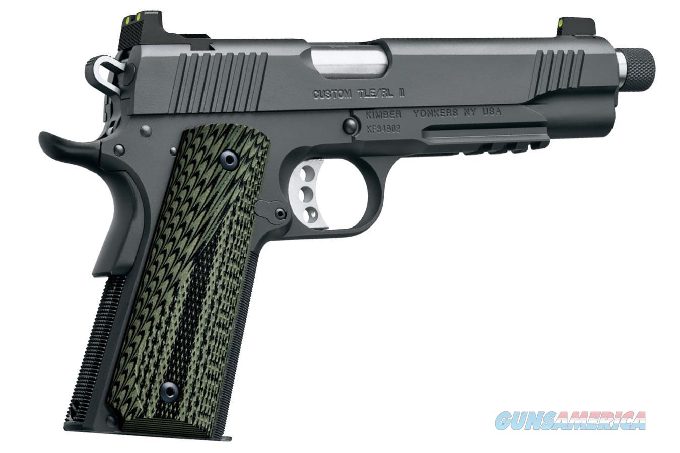 Kimber 1911 Custom TLE/RL II (TFS) 9mm Luger 3200339  Guns > Pistols > Kimber of America Pistols > 1911