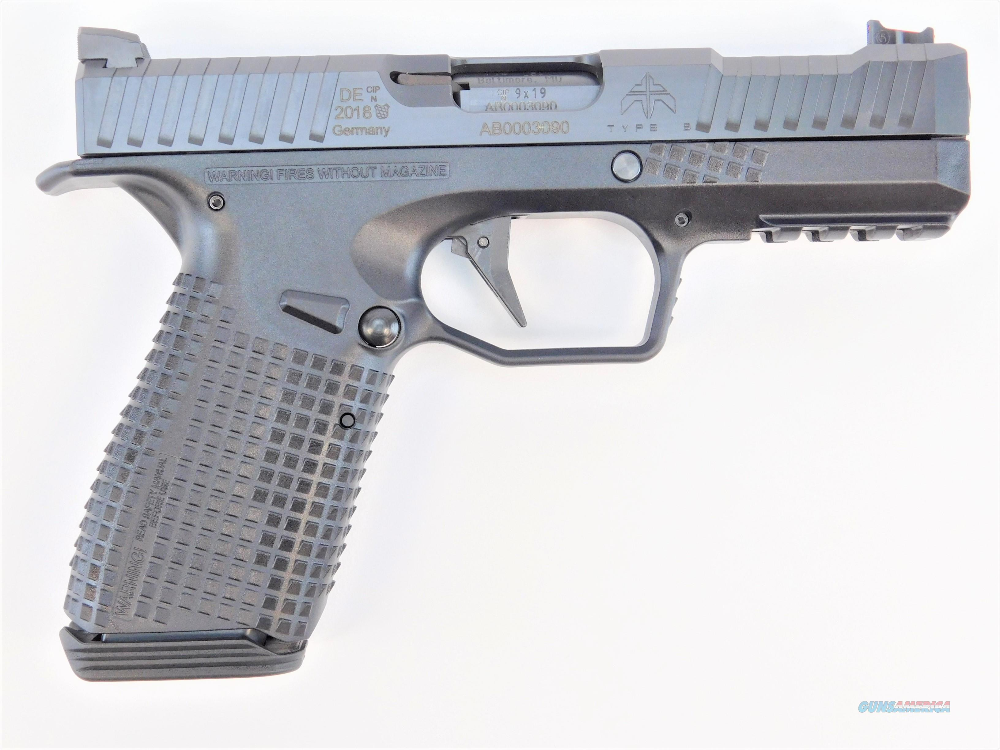 "Archon Firearms Type B 9mm 4.29"" 15 Rounds TYPEB  Guns > Pistols > A Misc Pistols"