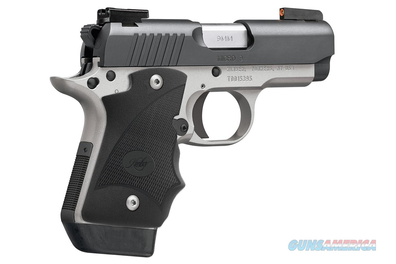 "Kimber Micro 9 Two-Tone (DN) 9mm 3.15"" 3300195  Guns > Pistols > Kimber of America Pistols > Micro 9"