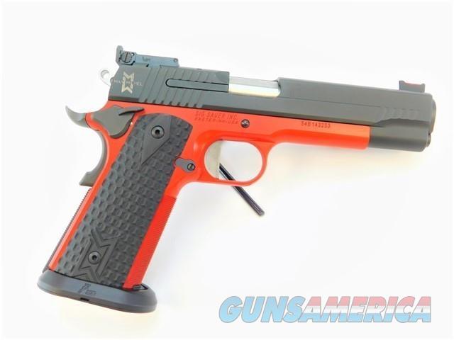 "SIG SAUER 1911-45-MAXM 5"" .45 ACP CERAKOTE RED  Guns > Pistols > Sig - Sauer/Sigarms Pistols > 1911"