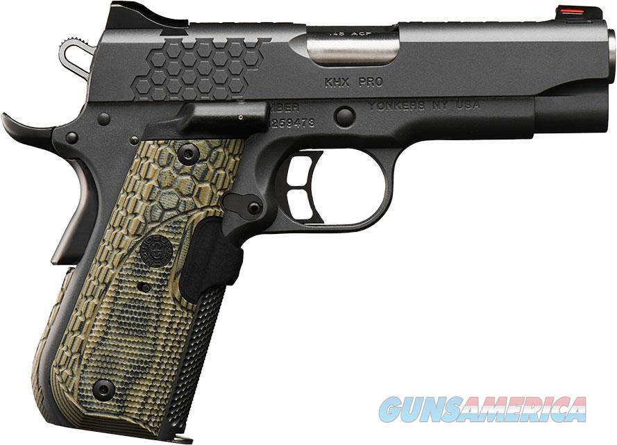 """Kimber KHX Pro (LG) .45 ACP 4"""" Fiber Optic 3000361  Guns > Pistols > Kimber of America Pistols > 1911"""