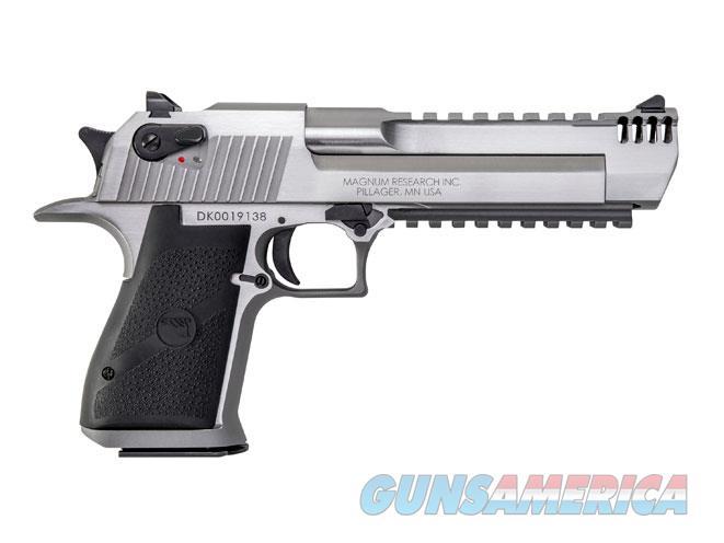 "Magnum Research Desert Eagle .50 AE 6"" SS Muzzle Brake DE50SRMB   Guns > Pistols > Magnum Research Pistols"