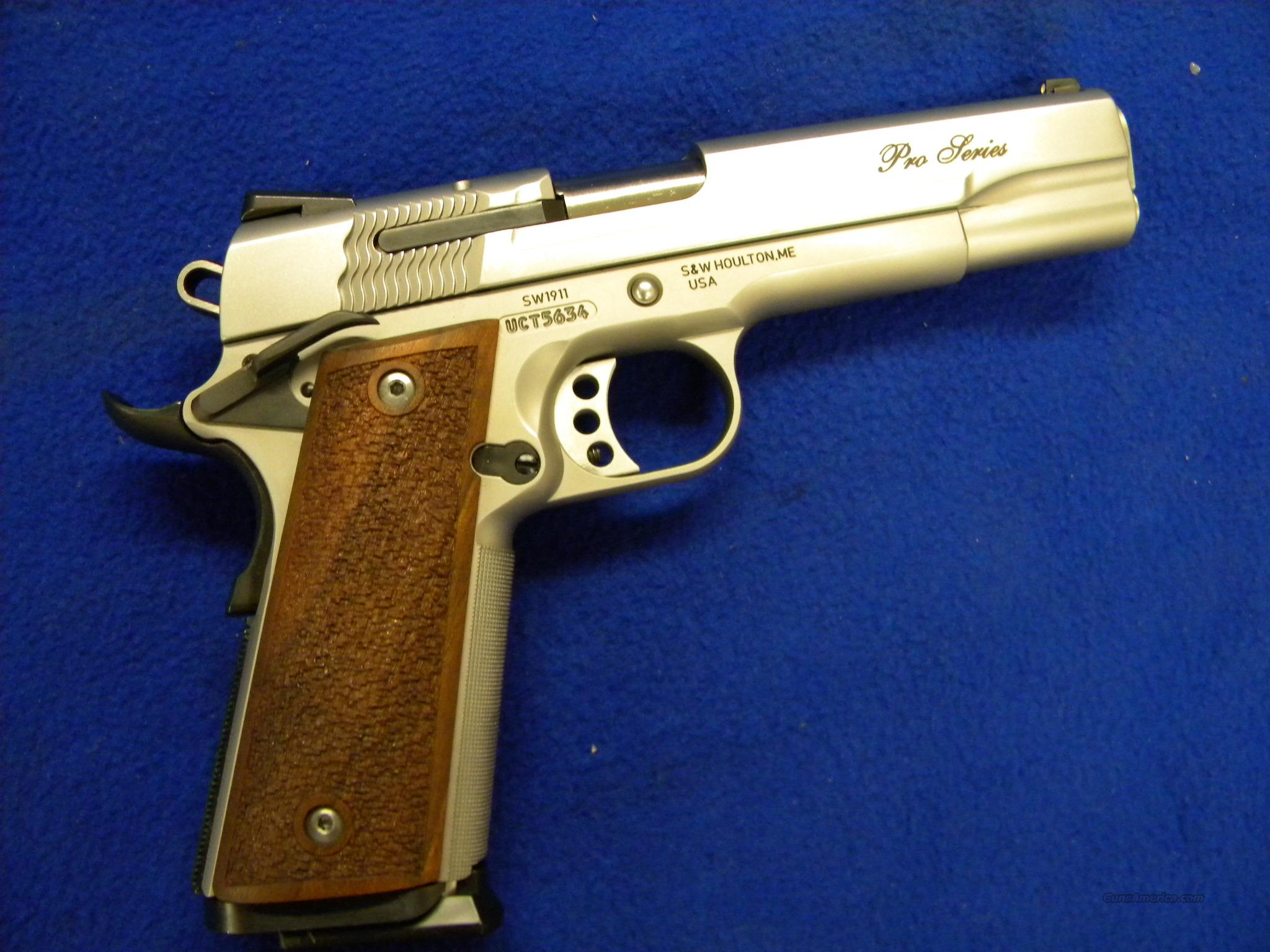SNITH AND WESSON 1911 PRO SERIES 9MM  Guns > Pistols > Smith & Wesson Pistols - Autos > Steel Frame