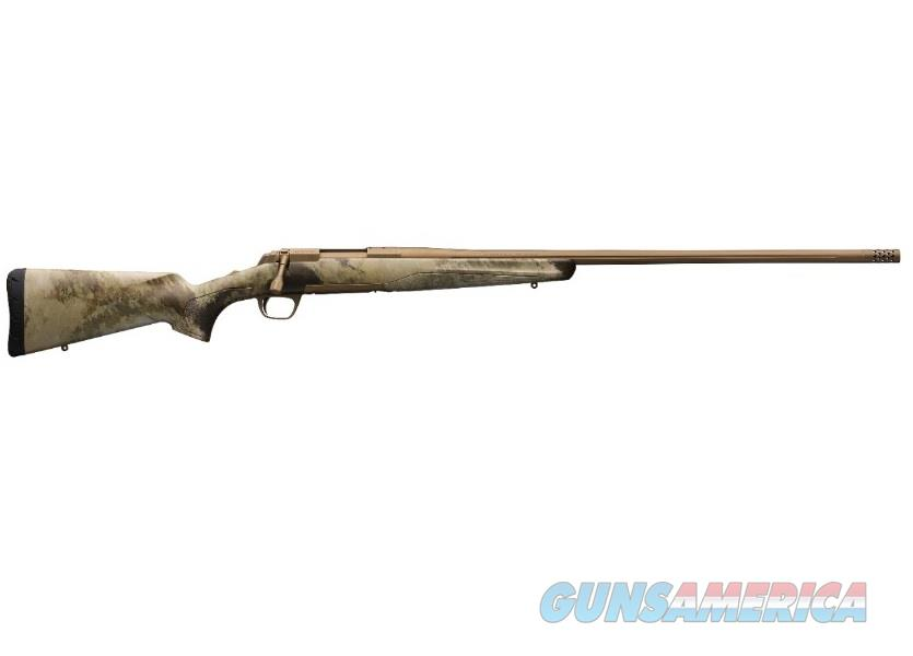 "Browning X-Bolt Hell's Canyon Long Range 6.5 Creed 26"" A-TACS AU 035499282  Guns > Rifles > Browning Rifles > Bolt Action > Hunting > Blue"
