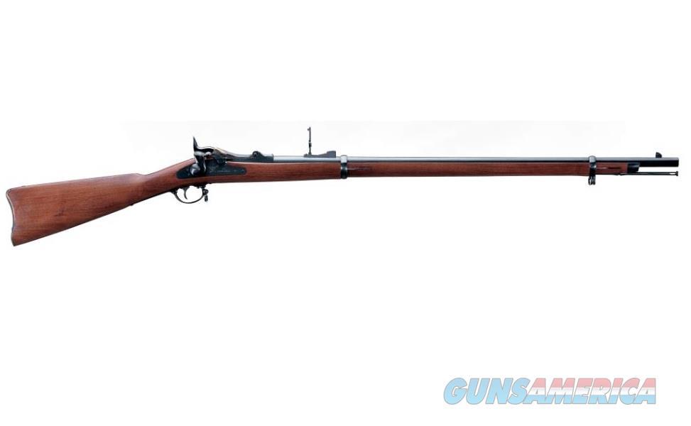 "Uberti Springfield Trapdoor Army .45-70 Govt 32.5"" Walnut 71007   Guns > Rifles > Uberti Rifles > Single Shot"