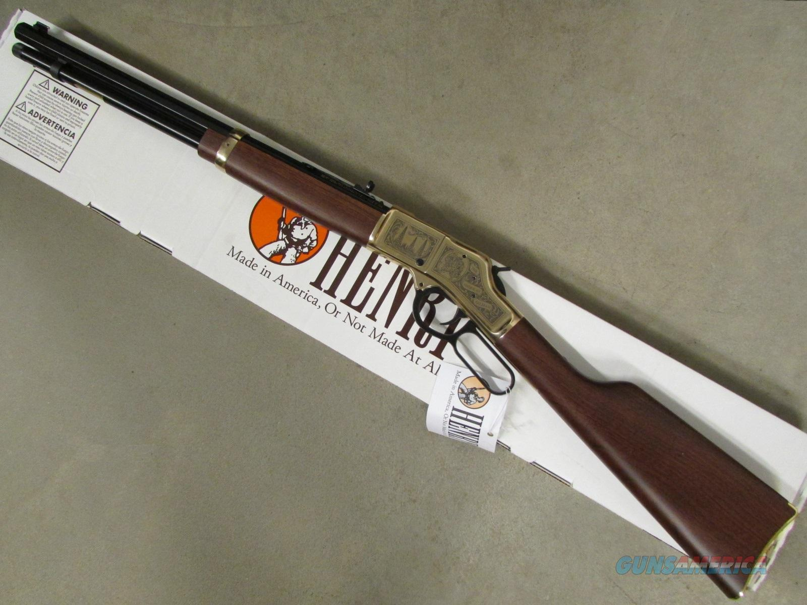 Henry American Oilman Tribute Rifle Lever-Action .44 Magnum H006OM  Guns > Rifles > Henry Rifle Company