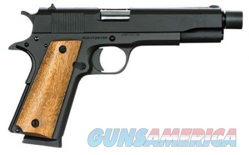 Armscor/RIA 1911 GI Standard FS Threaded .45 ACP 51473  Guns > Pistols > Rock Island Armory Pistols > Rock Island