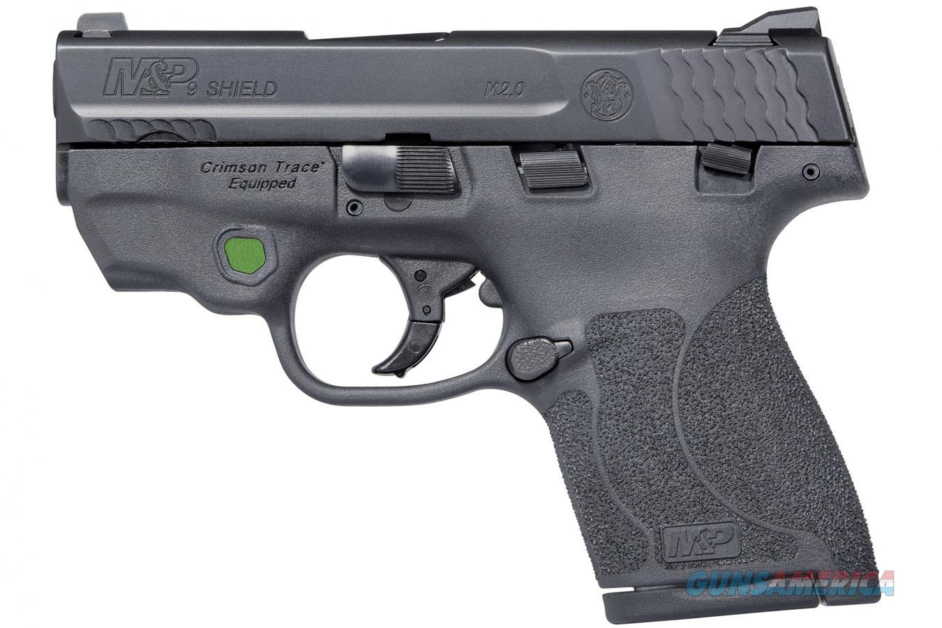 """Smith & Wesson M&P9 Shield M2.0 9mm 3.1"""" CT Green Laser 11901   Guns > Pistols > Smith & Wesson Pistols - Autos > Shield"""