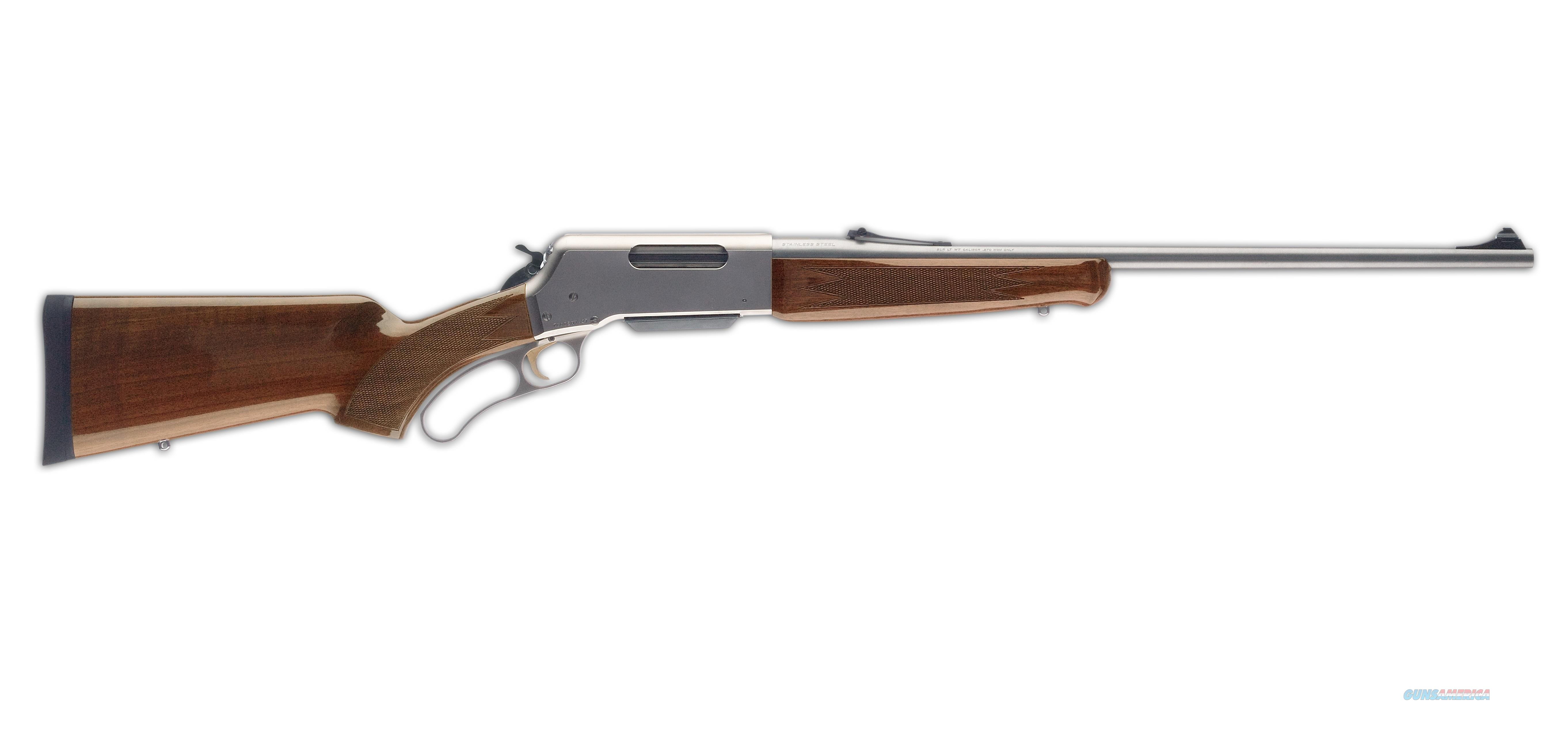 "Browning BLR Lightweight 20"" Stainless w/ Pistol Grip Lever-Action .358 Win 034018120  Guns > Rifles > Browning Rifles > Lever Action"