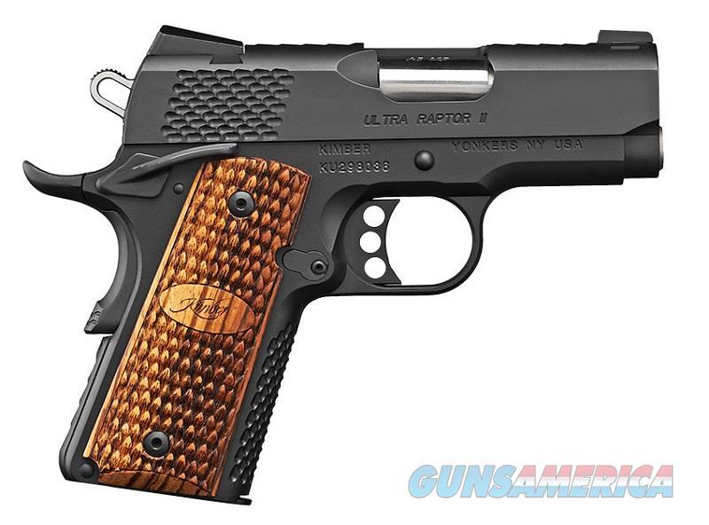 "Kimber Ultra Raptor II 1911 3"" .45 ACP 3200378  Guns > Pistols > Kimber of America Pistols"