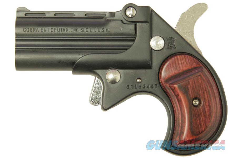 Cobra Big Bore Derringer .38 Special Black / Wood CB38BR   Guns > Pistols > Cobra Derringers