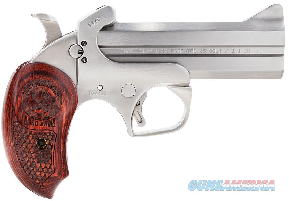 "Bond Arms Snake Slayer IV .45LC/.410 4.25"" BASS4   Guns > Pistols > Bond Derringers"