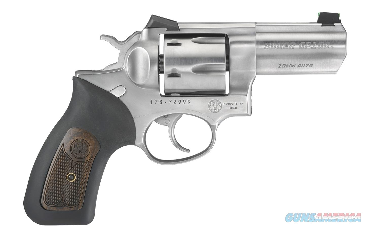 """Ruger GP100 Standard 10mm Auto TALO 3"""" SS 1780   Guns > Pistols > Ruger Double Action Revolver > GP100"""