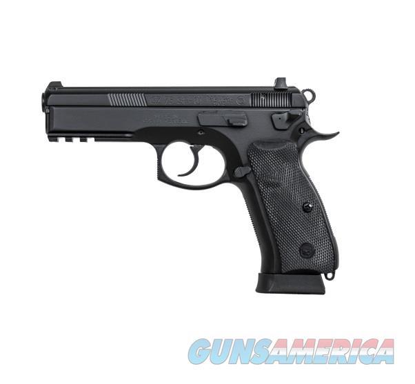 """CZ-USA CZ 75 SP-01 Tactical 9mm 4.6"""" 18 Rds 91153   Guns > Pistols > CZ Pistols"""
