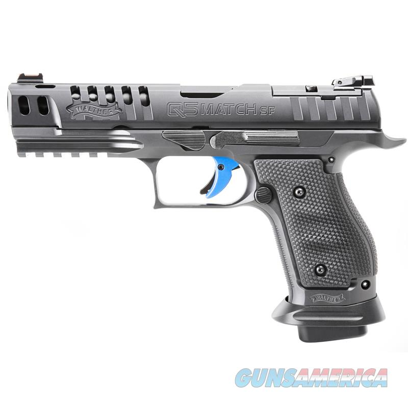 """Walther PPQ Q5 Match Steel Frame Pro 9mm 5"""" 17 Rds 2830418   Guns > Pistols > Walther Pistols > Post WWII > P99/PPQ"""