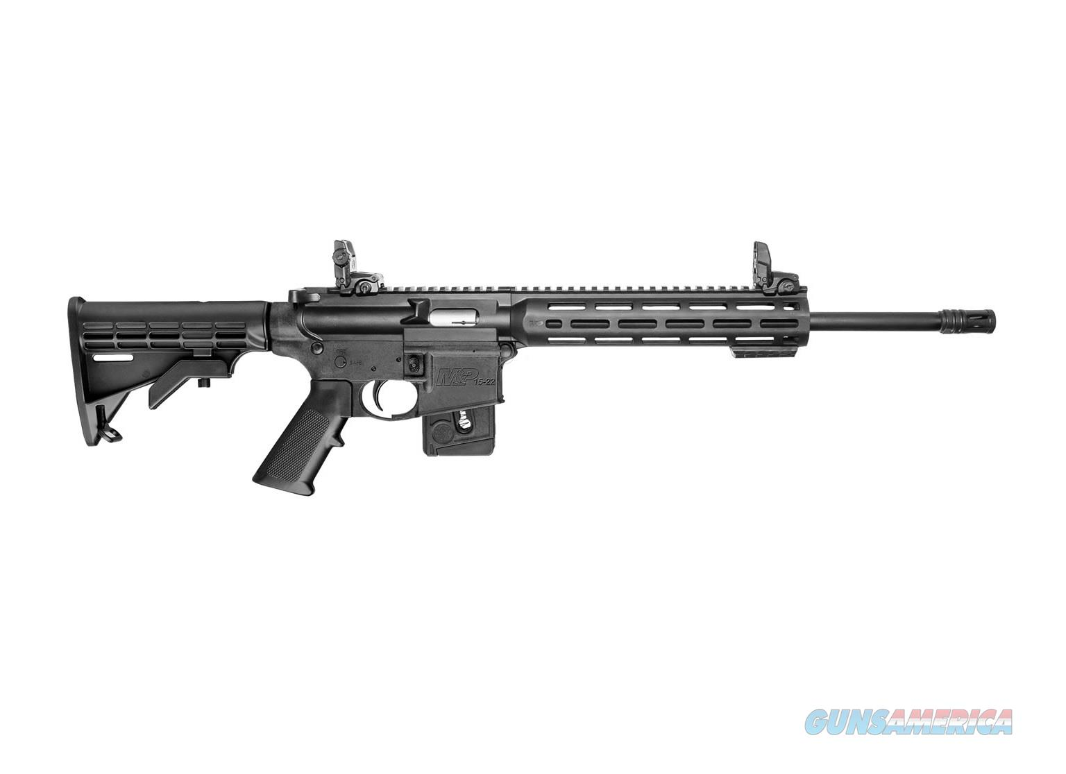 Smith & Wesson M&P 15-22 Sport M-LOK .22 LR 10rd CA COMPLIANT 10206   Guns > Rifles > Smith & Wesson Rifles > M&P