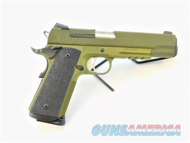 SIG SAUER 1911R 1911 TACOPS .45 ACP CERAKOTE GREEN   Guns > Pistols > Sig - Sauer/Sigarms Pistols > 1911